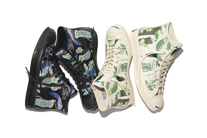 Converse Jack Purcell Signature High Carnivorous Print Pack 1