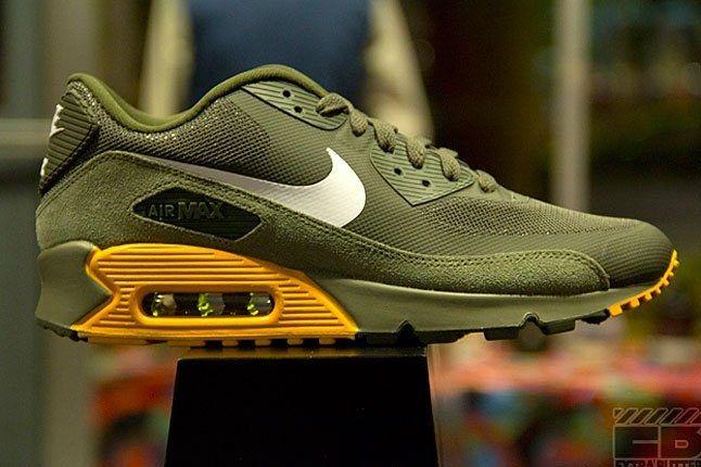 Air Max 90 Premium (Cargo Khaki) - Sneaker Freaker