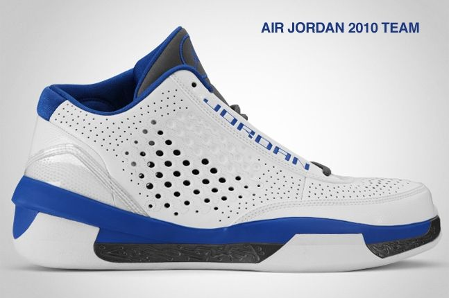 Air Jordan 2010 Team Royal Blue 2