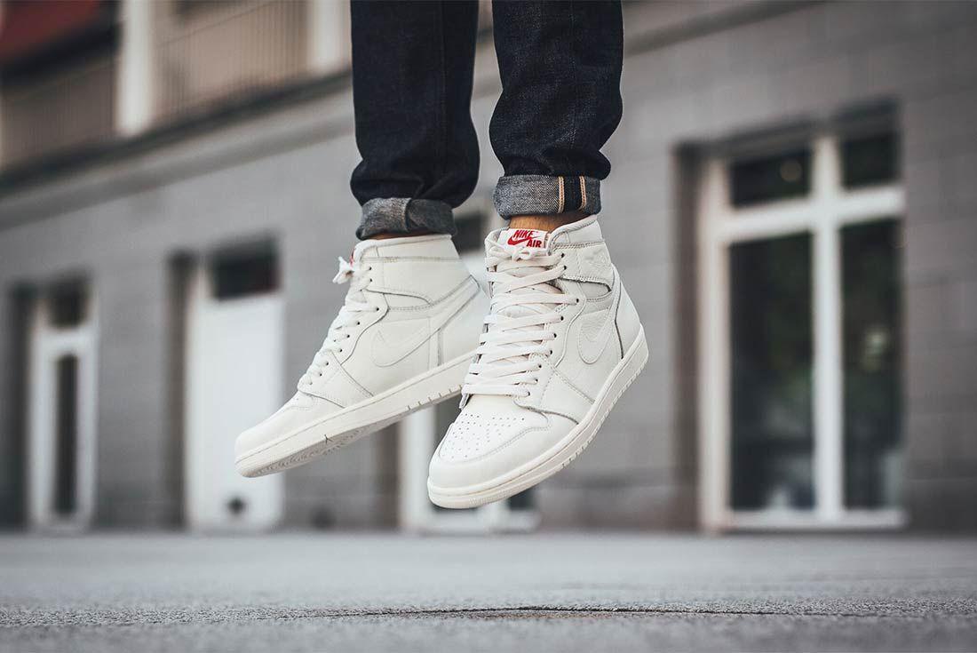 Air Jordan 1 High Sail 2