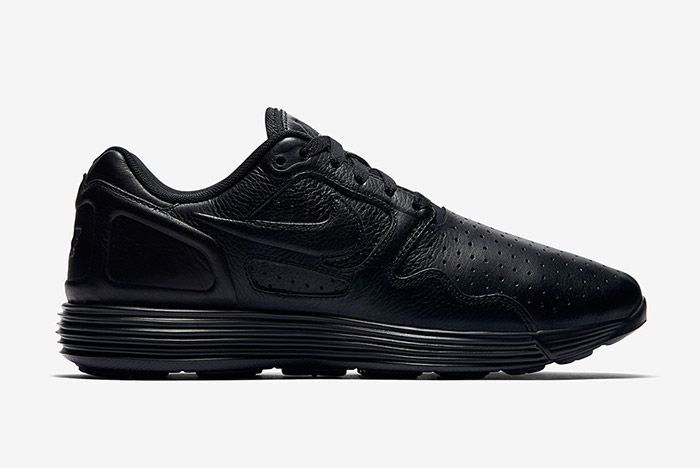 Nike Lunar Flow Triple Black Leather 6