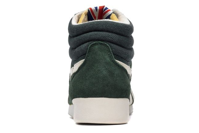 Reebok Freestylehi Vintage Green Heel Profile 1