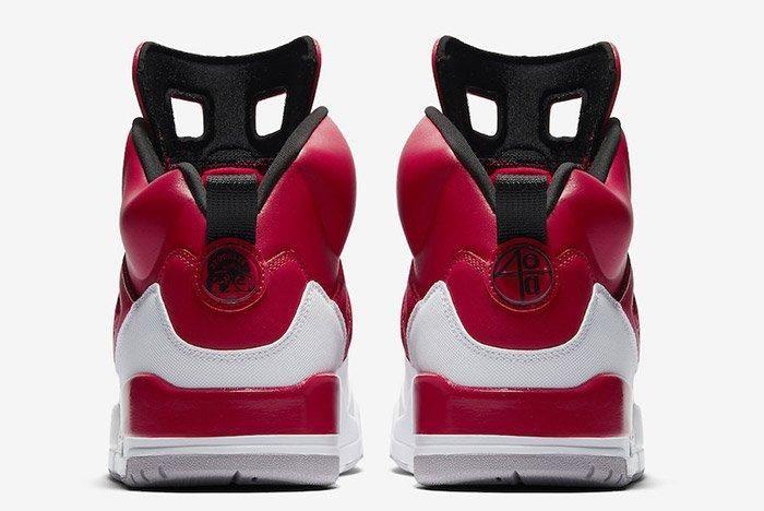 Air Jordan Spizike Gym Red White 5