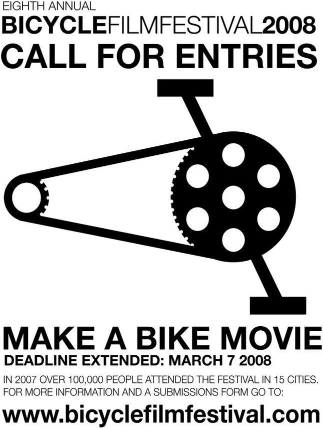 Eighth Annual Bicycle Film Festival 1