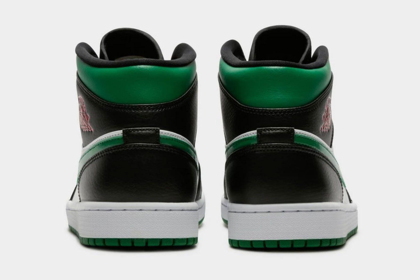 Air Jordan 1 Mid (Pine Green)