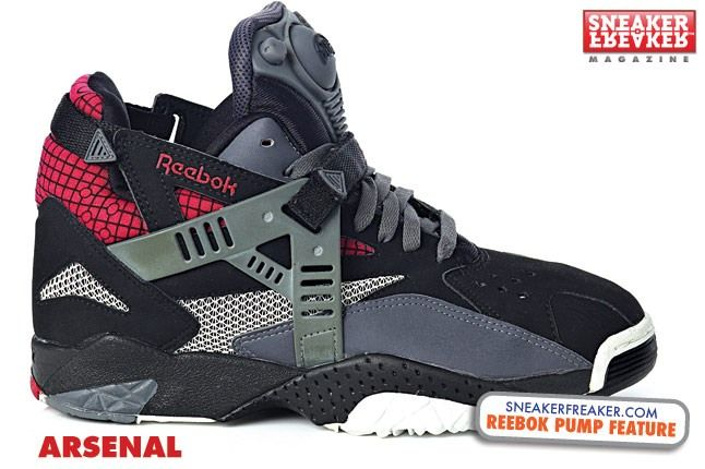 reebok pump arsenal
