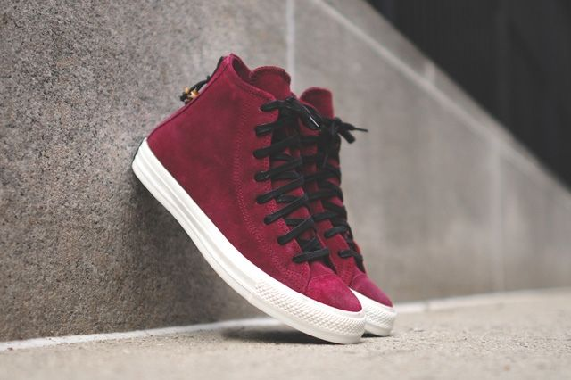 Converse Chuck Taylor All Star Zip Burnished Suede Pack 4