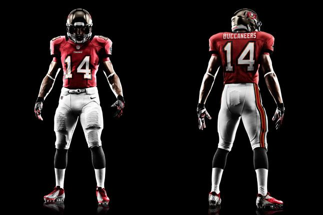 Tampa Bay Buccaneers Uniform 1