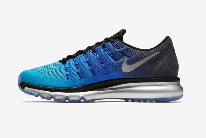 Nike Air Max 2016 Blue Black Silver 3