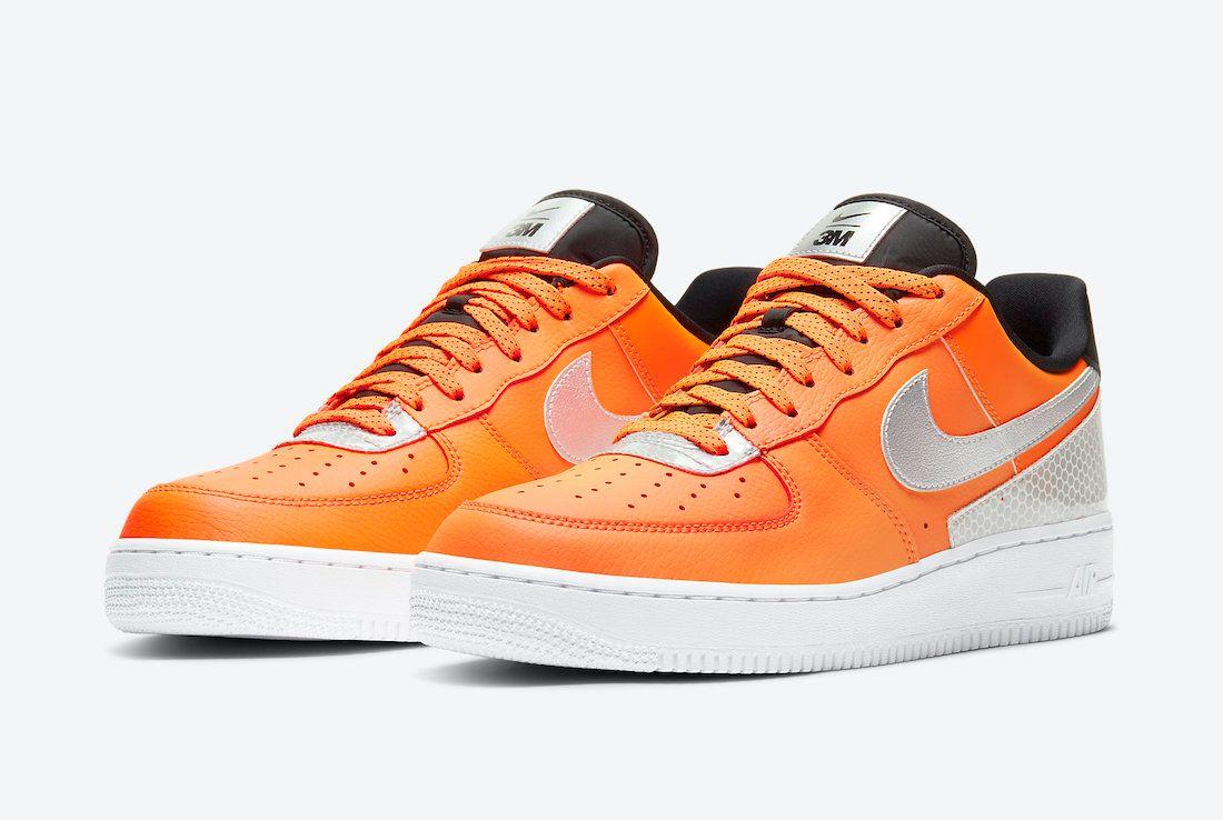 Nike Air Force 1 3M Angled