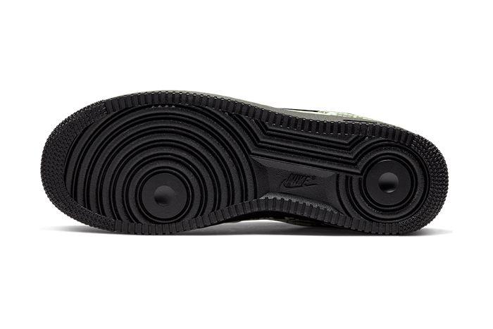 Nike Air Force 1 Low Foamposite Pro Cup Snakeskin Aj3664 300 Release Date Outsole