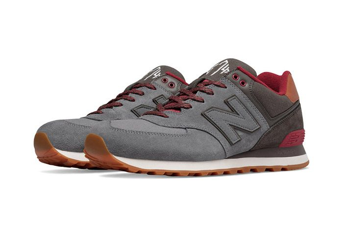 New Balance 574 Collegiate Pack Grey 3