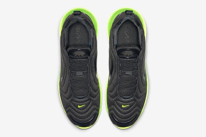Nike Air Max 720 Black Volt Top
