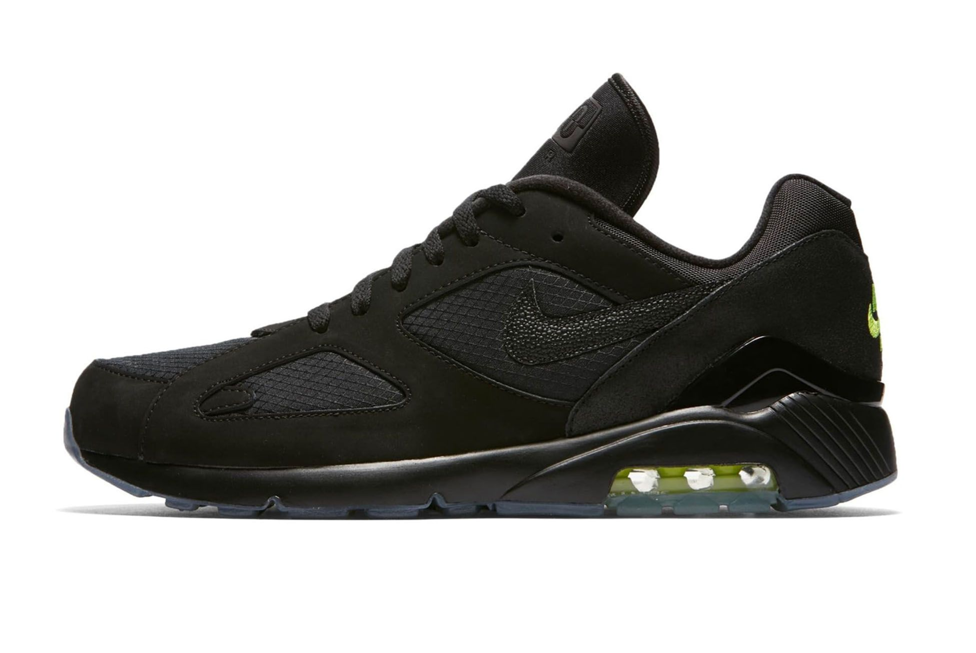 Nike Air Max 180 Black Volt First Look 001 Sneaker Freaker