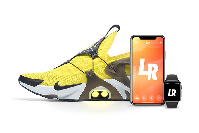 Nike Adapt Huarache Yellow Release Date Hero