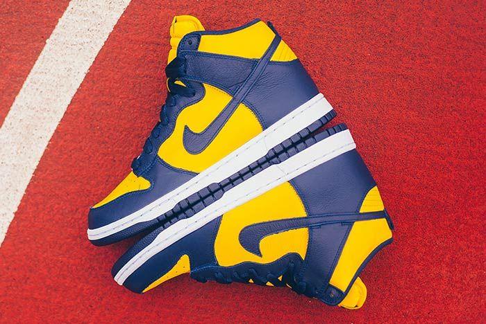 Air Jordan Be True To Your School Michigan 1