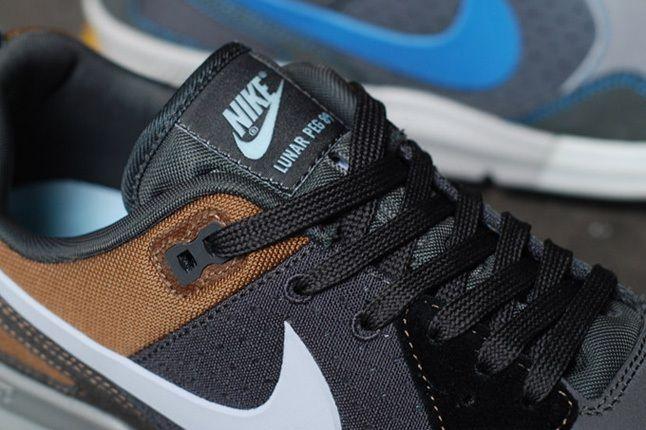Nike Nsw Lunarpeg89 Brown Tongue Detail 1
