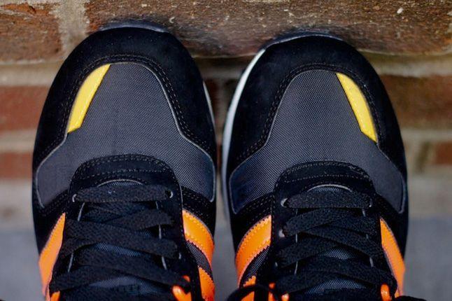 Adidas Zx700 Black Orange Toe Detail 1