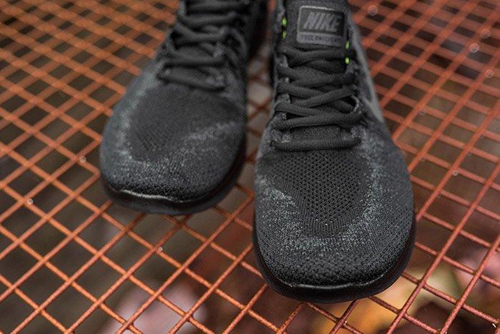 Nike Free Run Flyknit 2017 Triple Black4