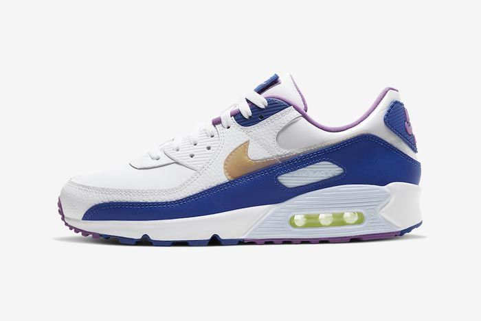 Nike Air Max 90 Easter Blue Lateral