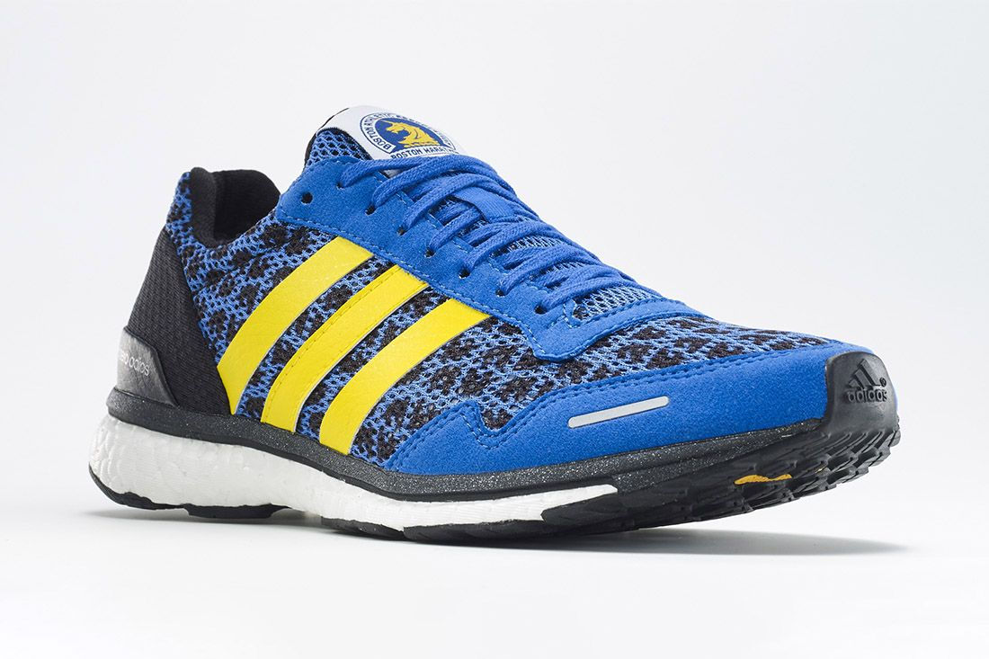 Adidas Adizero Adios Boston Blue Best Marathon Shoes Feature