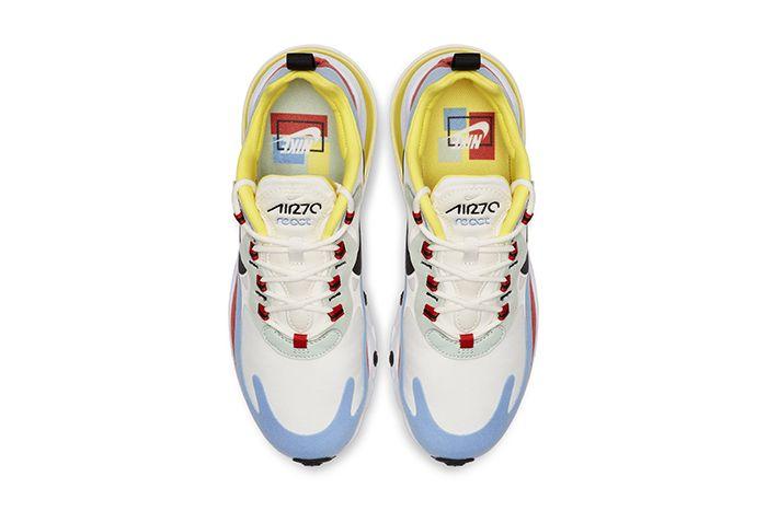Nike Air Max 270 React Bauhaus Womens Release Date Top Down