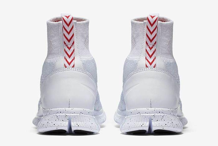 Nike Free Mercurial Superfly Triple White 05