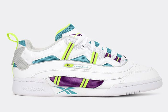 Reebok Workout Plus Rc 10 Whiteregal Purple Side