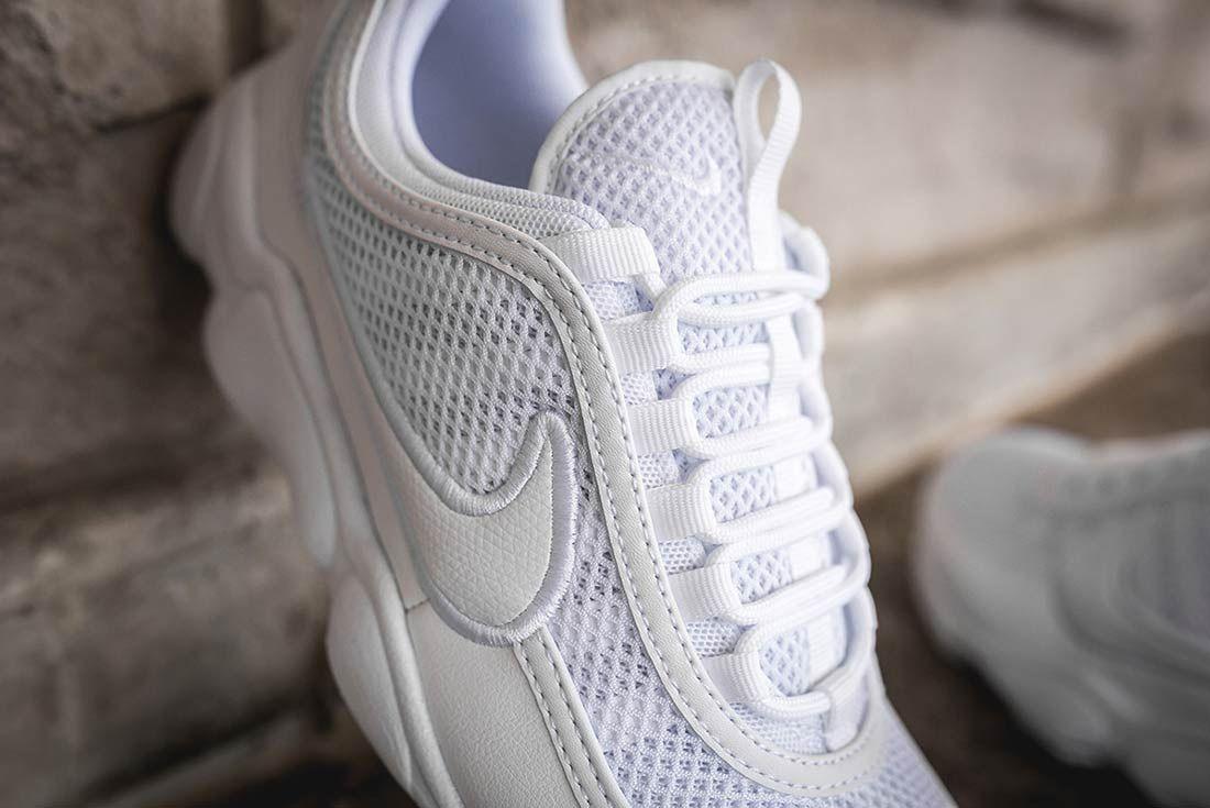 Nike Air Zoom Spiridon Ultra Triple White 9