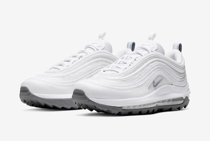 Nike Air Max 97 Golf White Grey Pair