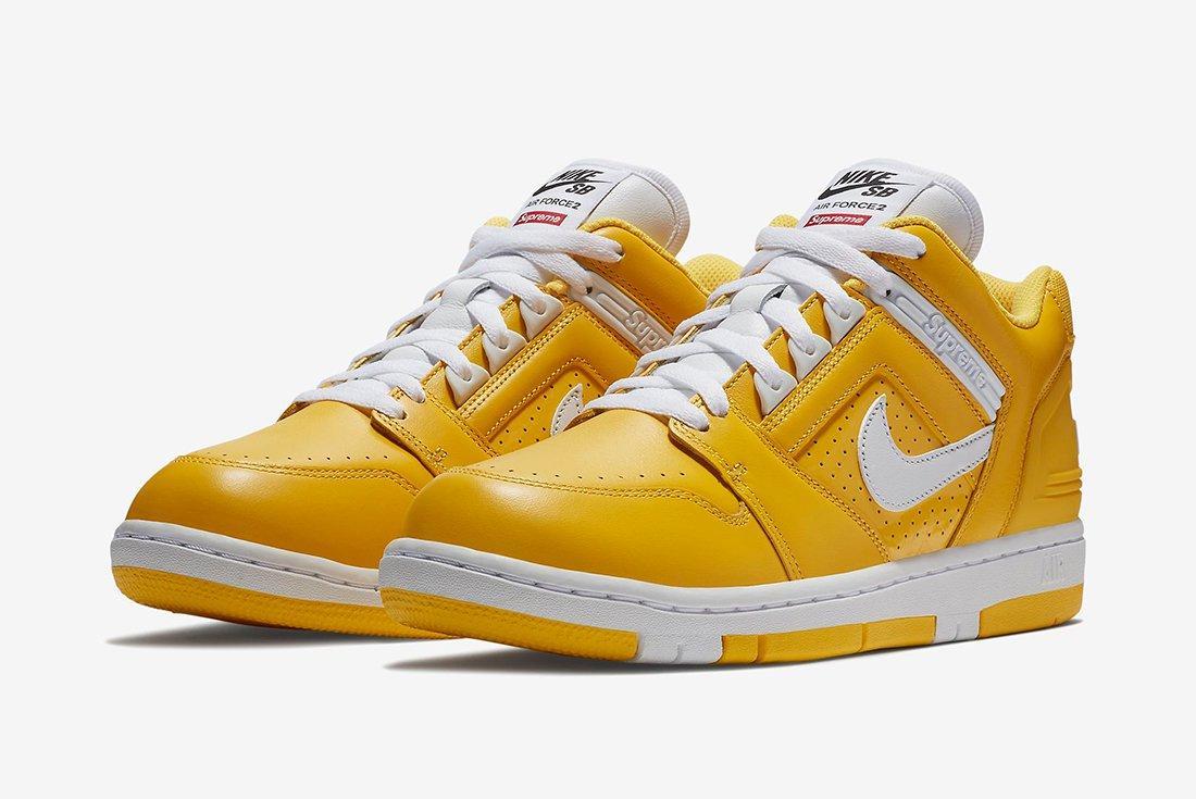 Supreme X Nike Air Force 2 17