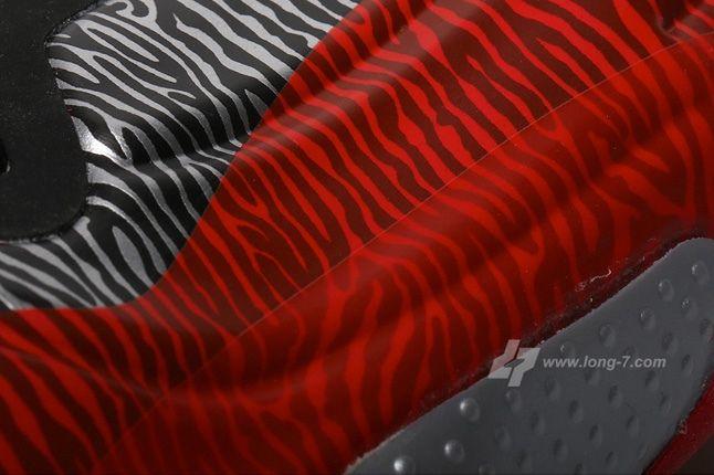 Nike Flightposite Exposed Zebra Midfoot Detail 1