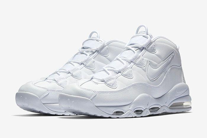 Nike Air Max Uptempo Triple White 5