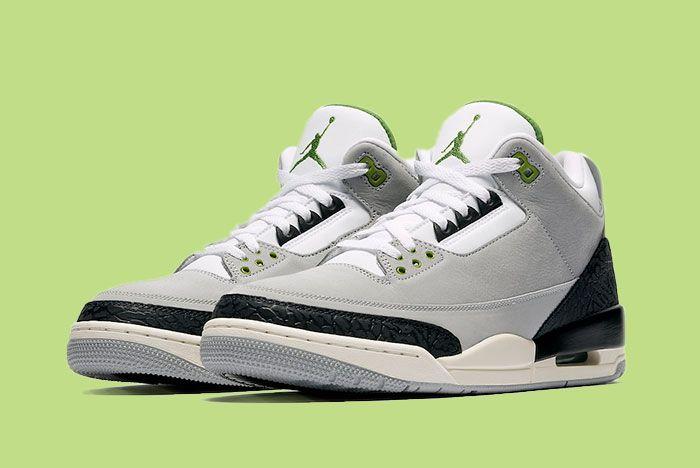 Air Jordan 3 Tinker Chlorophyll 136064 006 Release Date 4 Sneaker Freaker