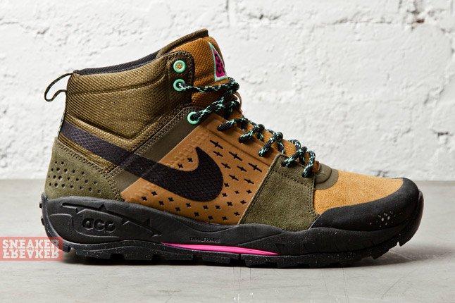 Nike Air Alder Mid Dark Loden Ale Brown 3