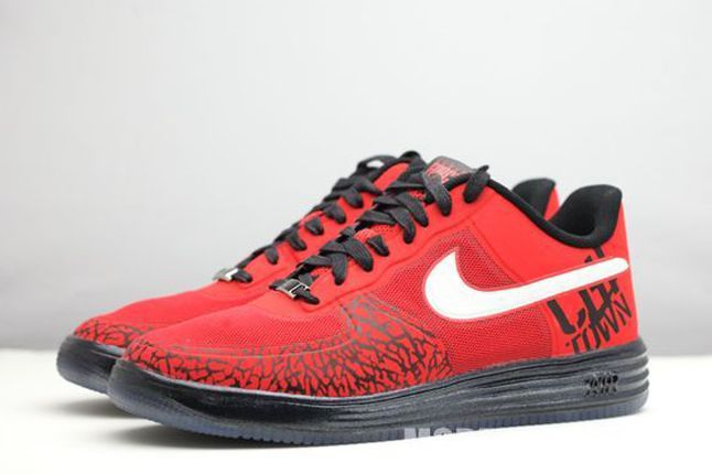 Nike Chicago Lunar Air Force 1 Pair 1