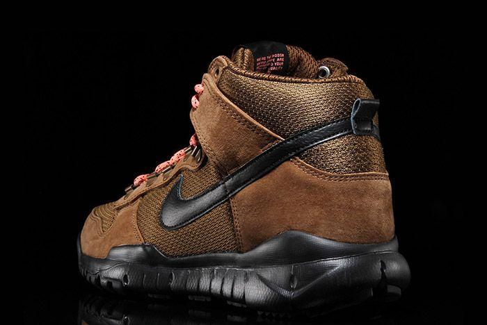 Nike Sb Dunk Hi Boot Military Brown 2