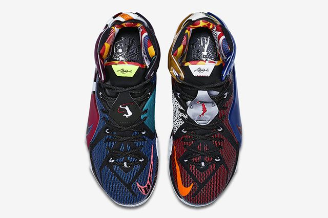 Nike Lebron 12 What The8