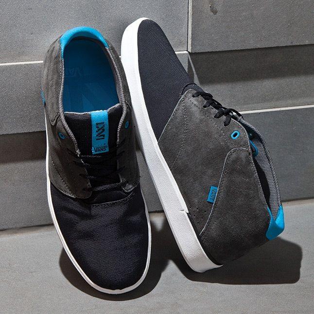 Vans Secant Black Blue 1