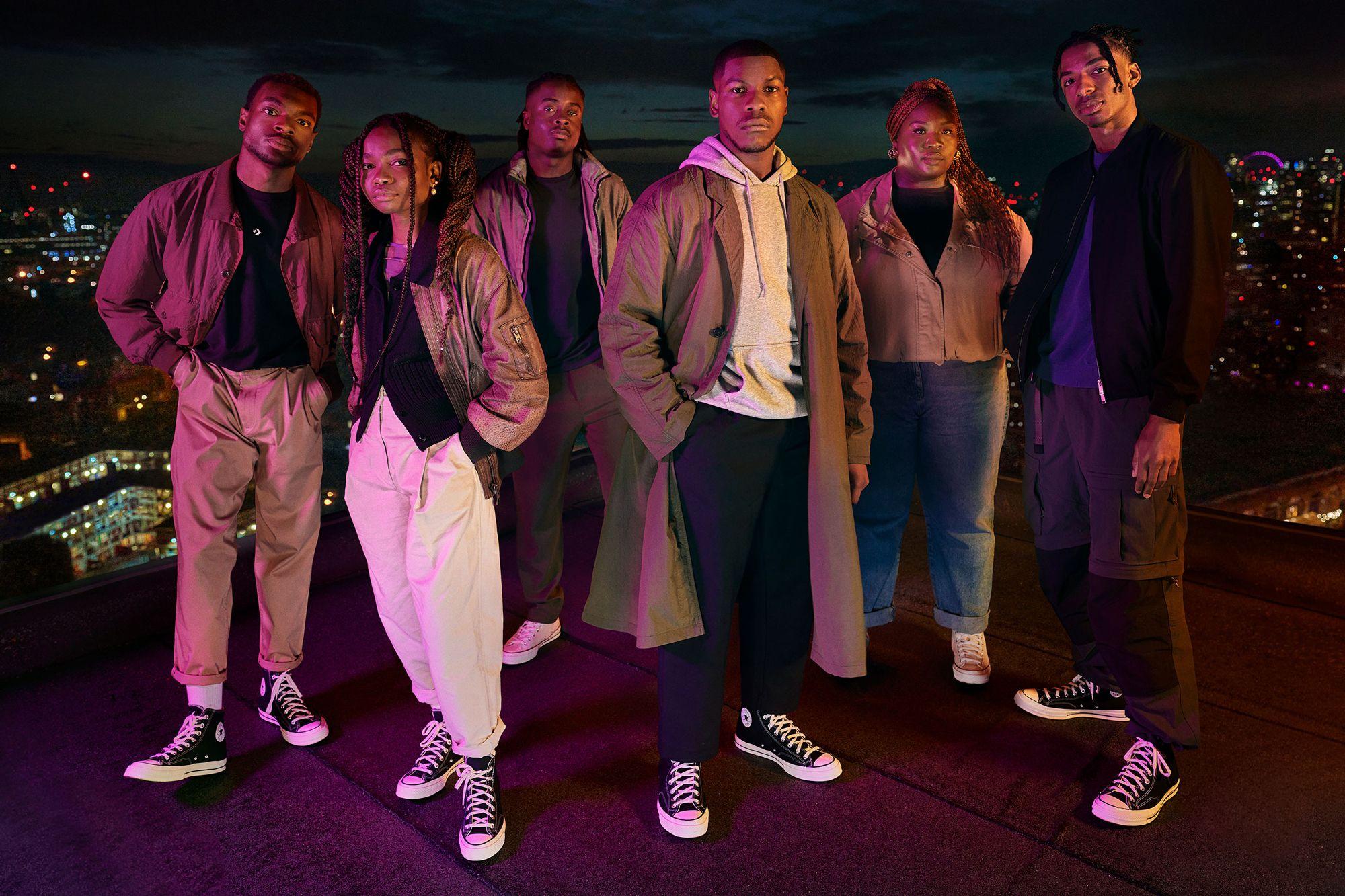 John Boyega x Converse All Stars Program