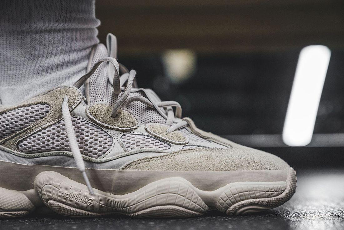 Yeezy Desert Rat 500 On Foot Sneaker Freaker 6