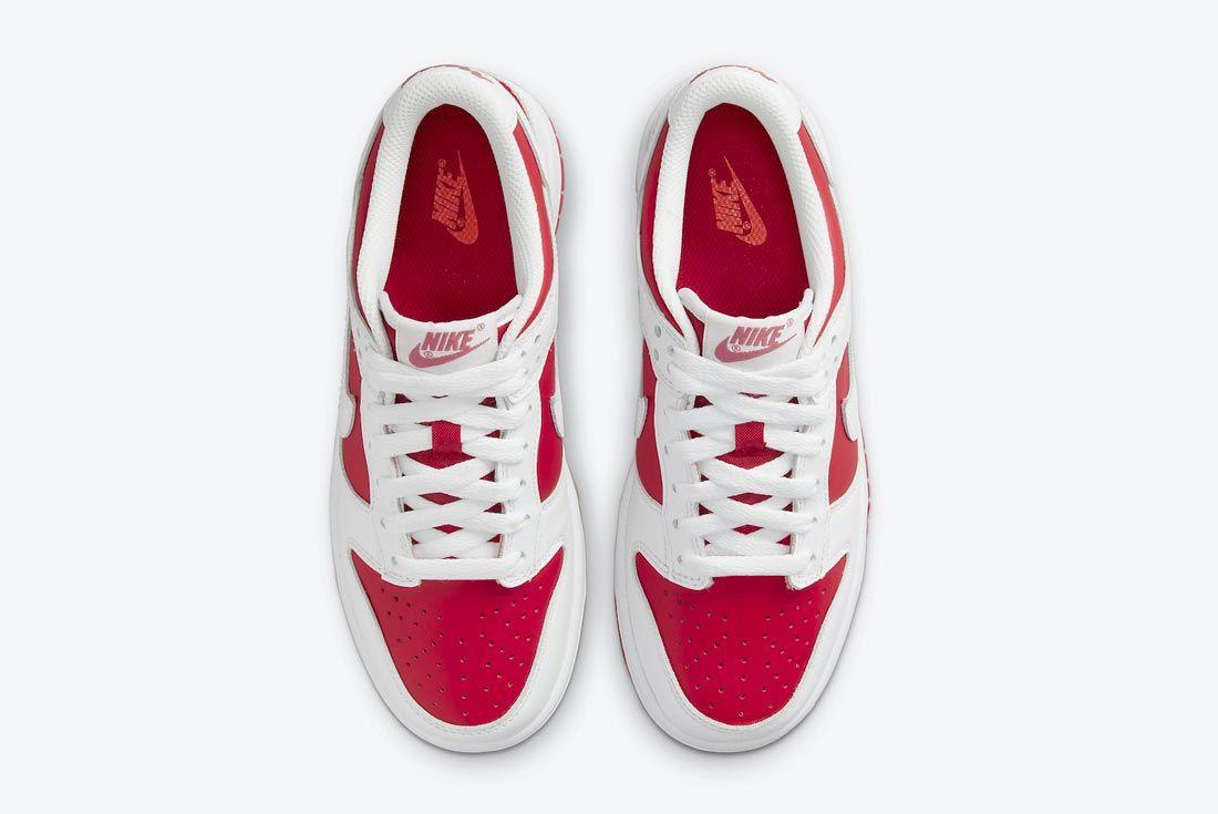 Nike Dunk Low White/University Red