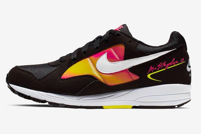 Nike Air Skylon 2 Pink Orange Left