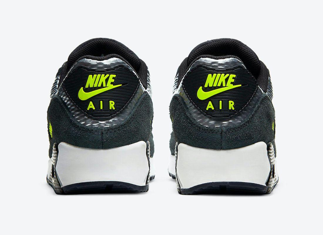 Nike Air Max 90 3M Heel