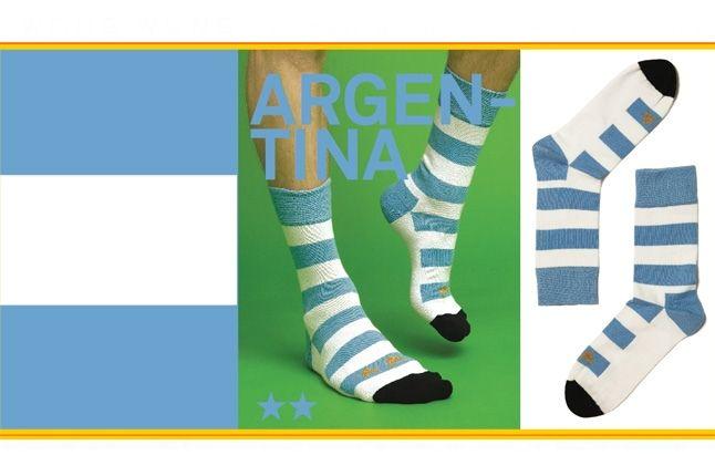 World Cup Socks Wong Wong Argentina 1