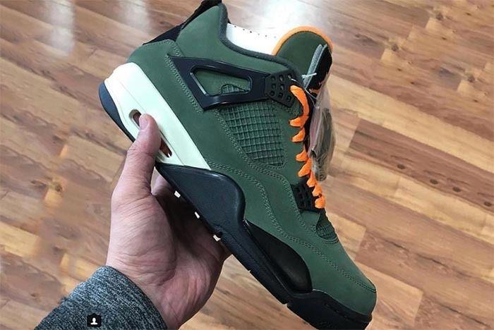 Air Jordan 4 Undefeated Sneaker Freaker