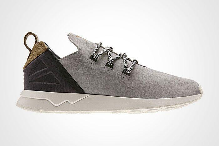 Adidas Zx Flux Adv X Grey Suede Thumb