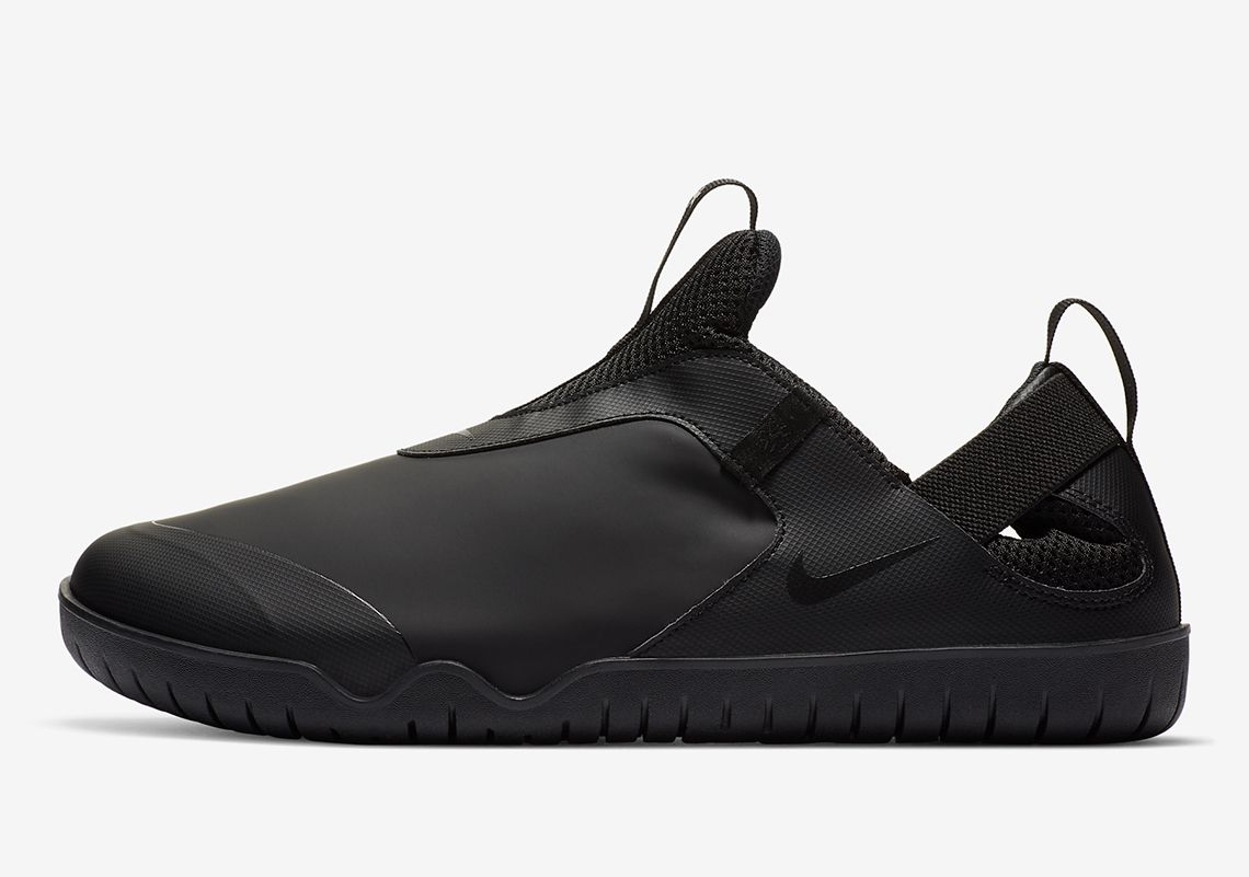 Nike Air Zoom Pulse Triple Black Left