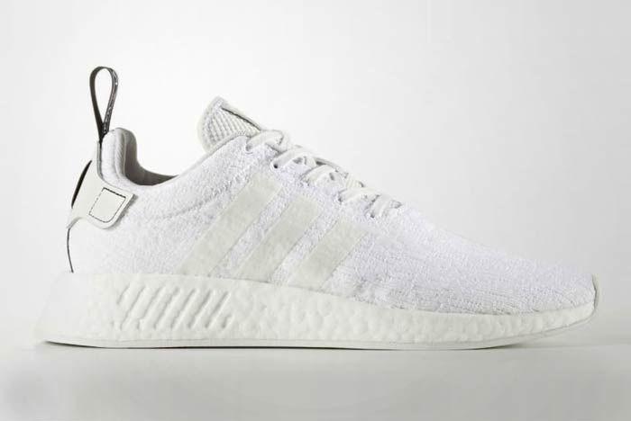 Adidas Nmd R2 Triple White 7