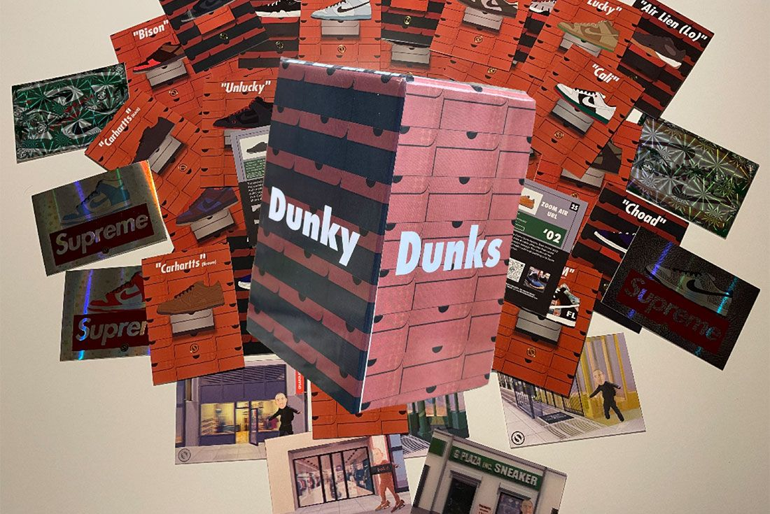 nike dunk collectable cards